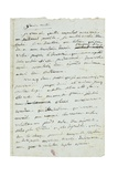 Letter to Josephine De Beauharnais  1795-6