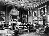 One of the Principal Rooms of Seamore Place  Illustration from 'A Description of the Works of Art…