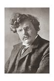 Gilbert Keith Chesterton  1874 – 1936 English Writer from the Wonderful Year 1909