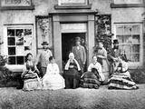 Victorian Family Portrait  C1860s