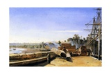 Shipyard in Honfleur  C1823