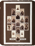 Union Martyrs  Photographs of Union Generals Killed During the War (Maquette)  C1864