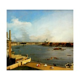 The Thames from Richmond House  1746