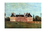Château De Rosny  1840