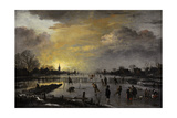 Aert Van Der Neer (C 1603-1677) Landscape Painter of the Dutch Golden Age Winter Landscape…