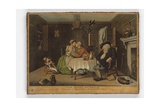 The Quiet Husband  Print Made by John June  C1768