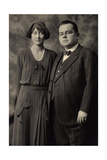 Foto Ak Adolf Fürst Zu Schwarzenberg  Hilda Von Luxemburg Nassau