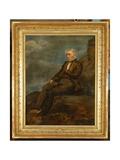 Portrait of Wordsworth on Helvellyn  C1843