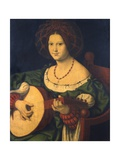 Lady with a Lute  C1510