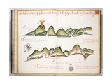 Ms Elkins 169 'A Description of the Sea Coast from the Hill of Guatemala To' Illustration from…