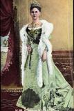 Ak HM Königin Wilhelmina Der Niederlande Mit Krone  1908