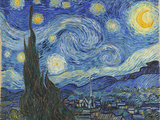 The Starry Night  June 1889