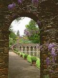 View of the Roman Water Garden  Green Gables  California