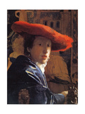 Girl with a Red Hat  C1665