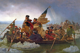 Washington Crossing the Delaware River  25th December 1776  1851 (Copy of an Original Painted in…