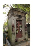 Tomb of the Composer Rossini in Pere Lachaise Cemetery in Paris