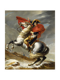 Napoleon Crossing the Grand Saint-Bernard Pass  20 May 1800  1802