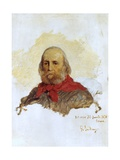 Portrait of Garibaldi  1876