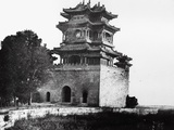 The Belvedere of the God of Literature at the Summer Palace  Beijing  1860