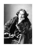 Oscar Wilde in His Favourite Coat  1882
