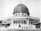 The Dome of the Rock  1858