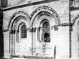 Window in the South Face of the Church of the Holy Sepulchre  1865