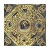 Vault of the Presbytery  Santa Maria Del Popolo  Rome  C1484-92