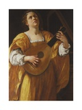 Saint Cecilia  1620