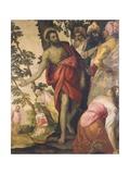 St John the Baptist Preaching