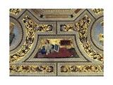Vault of the Presbytery with the Cimmerian Sybil  Santa Maria Del Popolo  Rome  C1484-92