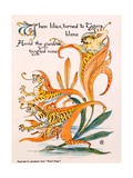 Tiger Lilies  Illustration from 'Flora's Feast' by Walter Crane  First Published 1889