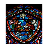 Window W4 Depicting Pentecost