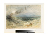 A Steamer Off Ostend  C1840-41