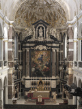 Interior of Saint-Charles Borromeo's Church  Antwerp