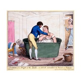 Installation of a Knight of the Bath  or Delicate Recreations on Board a Polacre  1820