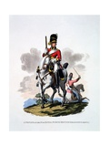Uniform of a Private of the 2nd or Royal North British Dragoons  'The Greys'  from 'Costume of…