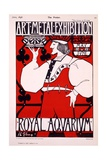 Poster for 'Art Metal Exhibition' at the Royal Aquarium  1898