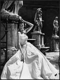 Evening Gown  Colosseo  Roma 1952