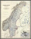 Sweden  Norway  c1861