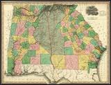 Georgia and Alabama  c1823