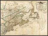 General Map of the Northern British Colonies in America  c1776