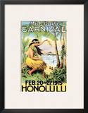 Mid Pacific Carnival  Honolulu  Hawaii  1915
