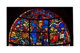 Window W19 Depicting St Nicholas Saves a Child