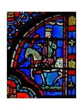 Window W13 Triumph of Mordecai Esth VI 11