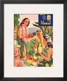 Hawaiian Luau  Libby's Pineapple Hawaii  c1957