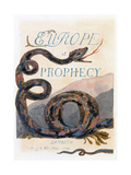 Illustration from 'Europe: a Prophecy'  Lambeth  1794