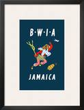 British West Indies Airways: BWIA Jamaica  c1962