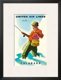 United Air Lines: Colorado  c1950s