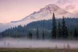 Misty Morning at Mount Hood Meadow