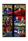Window W5 Depicting a Scene from the Life of St John the Baptist: Salome Dances for Herod